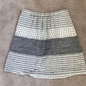 Silk Madewell A-line Skirt